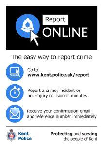 Police Report Online Poster Black