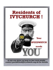 Speed Watch Needs You