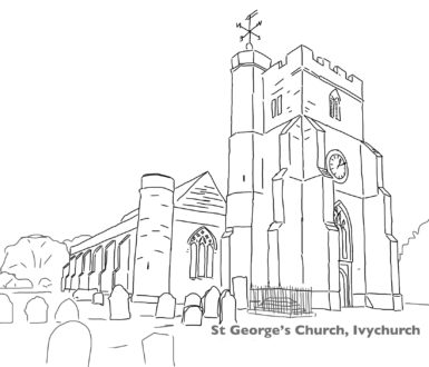 St Georges Church Drawing