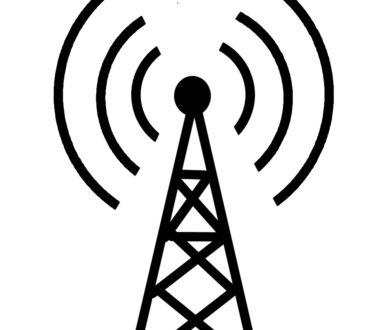 Radio Tower Drawing