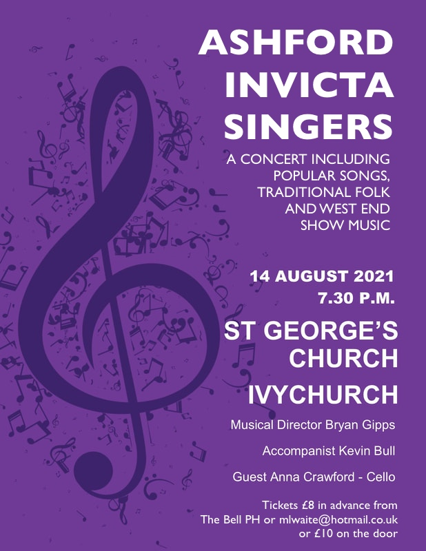 Ashford Invicta Singers Poster As Jpeg For Websites