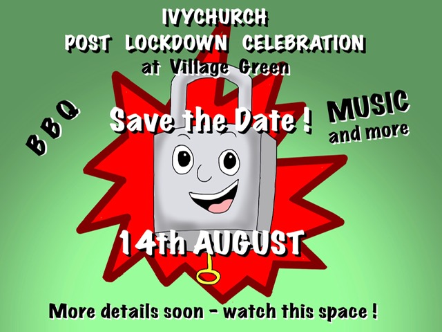 Poster For Village Post Lockdown Celebration